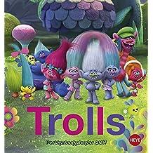 Trolls Postkartenkalender - Kalender 2017