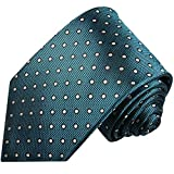 Petrol XL Krawatte 100% Seidenkrawatte (extra lange 165cm) von Paul Malone