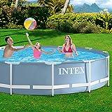 Intex–Pool Desmontable, 366x 76cm, 6.503L (28710np) -