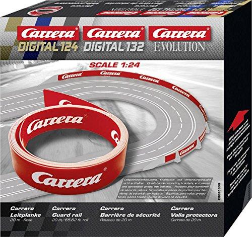 Carrera 20085509 20085509-Digital 132/124 Leitplanke, Fahrzeug, 20 m