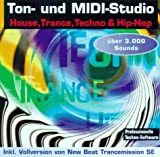 Ton- und MIDI-Studio House, Trance, Techno & Hip-Hop, inkl. Vollversion von New Beat Transmission SE, sowie 3000 Sounds. Programme für Windows 3.1x Win 95 / NT