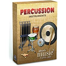 Alfred's Music Playing Cards -- Percussion Instruments: 1 Pack, Card Deck