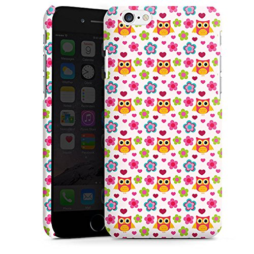 Apple iPhone X Silikon Hülle Case Schutzhülle Eulen Bunt Muster Premium Case matt
