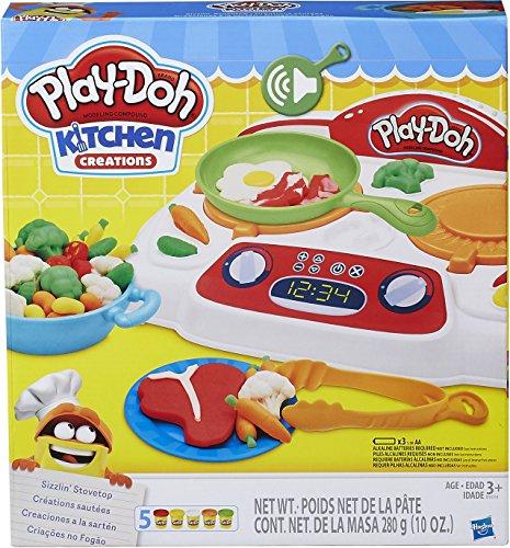 PLAY-DOH B9014EU40 Cuisine Créations Sizzlin' Cuisinière