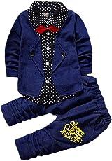 Ishi Fashion Destination Boy's Cotton Top and Bottom Suit Set