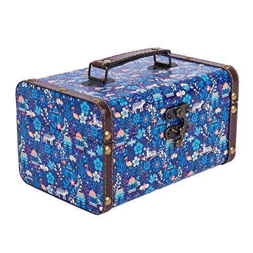 Midnight Jungle Storage box - Blue