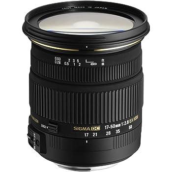 Sigma 17-50mm f2.8 EX DC HSM Optical Stabilised lens for Nikon Digital SLR Cameras with APS-C Sensors