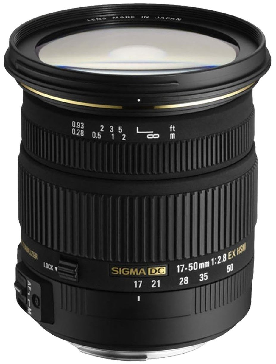 Sigma Obiettivo 17-50 mm-F/2.8 EX DC OS HSM -AF,Attacco NIKON