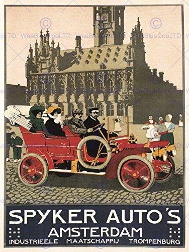 advert-automobile-car-spyker-amsterdam-netherlands-vintage-poster-affiche-print-12x16-inch-30x40cm-7