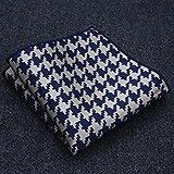 Pañuelo de bolsillo LXF Bolsillo Cuadrado Pañuelo Hombres Trajes Accesorios Camisa De Algodón 16 Colores (23 * 23 Cm) (Color : #1)
