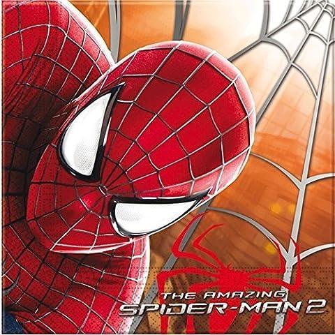 Amazing Spiderman Papier Servietten, 20Stück