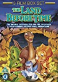 3 Film Box Set: Land Before Time 1-3 (Lenticular) [DVD]