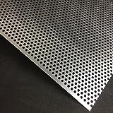 Lochblech Alu RV5-8 Aluminium 2mm Zuschnitt individuell auf Maß NEU günstig (1000 mm x 400 mm)