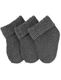 Sterntaler Unisex - Baby Socken Erstlingssöckchen, 3er Pack, Einfarbig