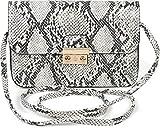 styleBREAKER Damen Crossbody Clutch in Schlangen Optik, Umhängetasche, Schultertasche, Tasche...