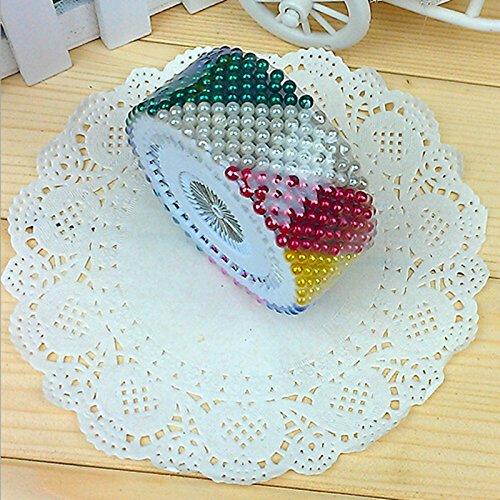 "Generic 480Pcs/set Round Head 1. 5"" sewing accessories Dress making Wedding Pins Craft DIY Needle Pearl Decorating Sewing EN821-1"