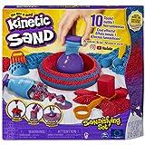 Kinetic Sand, Sandisfying Set con 907 G di Sabbia e 10 Accessori, Sabbia Modellabile, dai 3 Anni