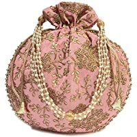 Radhika Potli Purse Hand Embroidered Bags For Women and Girls