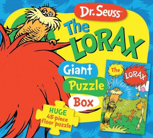 Walter Foster libri creativi-Dr. Seuss Lorax Puzzle gigante Box