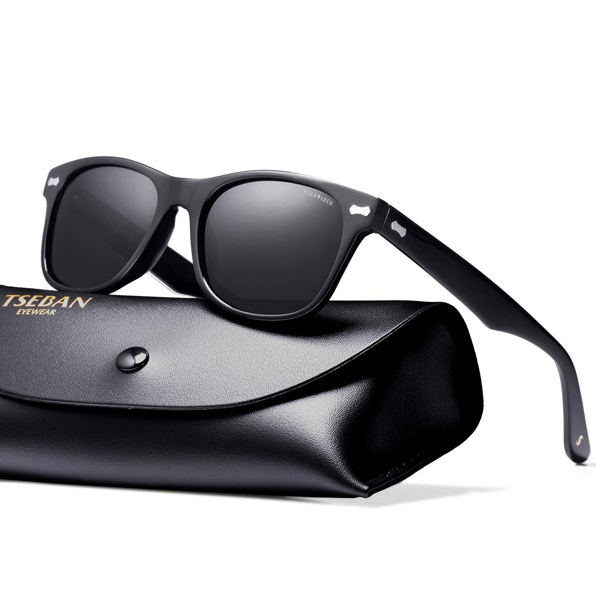 539c945c68ae33 TSEBAN Retro Polarisierte Damen Sonnenbrille Herren Sonnenbrille 100 ...