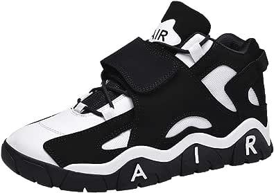 Scarpe Sportive da Uomo Scarpe Antiscivolo con Piattaforma Magic Sneaker Traspiranti per Uomo Adulto Scarpe da Basket Alte e morbide
