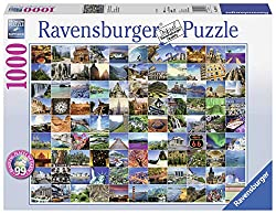 Ravensburger 19371 99 Beautiful Places on Earth Puzzle