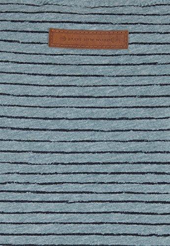 Naketano Male T-Shirt Hosenpuper Stormy Sea Melange