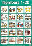 Numbers 1 to 20 (Laminated posters)