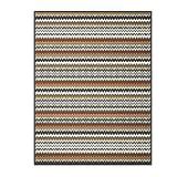 Bocasa Biederlack Thermosoft Decke/Überwurf, 150x 200cm, Mehrfarbig, Avalon, 220 x 240