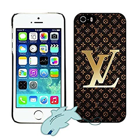 Retro Iphone 5 5s Coque Louis Nice Vuitton Logo Pattern (Lv)