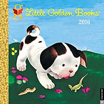 Little Golden Books 2016 Wall Calendar