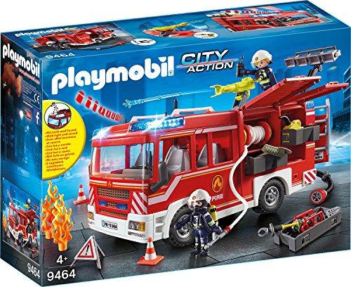feuerwehr playmobil 5362 PLAYMOBIL 9464 Spielzeug-Feuerwehr-Rüstfahrzeug