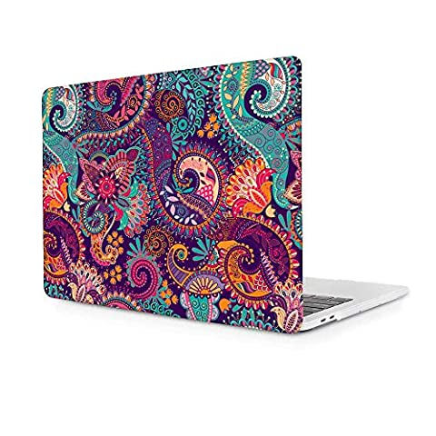 MacBook Pro 13 inch Case,Ultra Slim Plastic Hard Shell Protective Case Cover for MacBook Pro 13 (A1278),Paisley