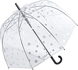 Esprit Stockschirm Long AC Domeshape Dots & Stars