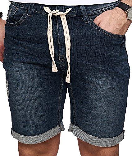 Sublevel -  Pantaloncini  - Uomo blu scuro 40