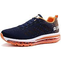 Sneakers da Uomo e da Donna con Cuscino d'Aria, Scarpe da Corsa in Rete, Scarpe Casual, Ammortizzazione Antiscivolo…