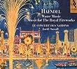 Haendel : Water music / Music for the Royal Fireworks