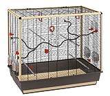 Ferplast Papageienkäfig | Komplettausstattung