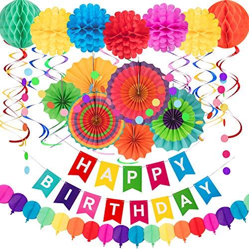 - Birthday Party Dekorationen