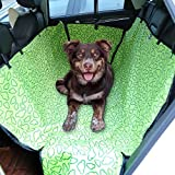 Amzdeal Hundedecke Auto, Kofferraumschutz Autoschondecke, Hund Autodecke mit Seitenschutz, Wasserdichte Hundedecke Kofferraumdecke, Grün