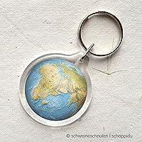 Schlüsselanhänger Globus