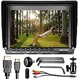 Neewer nw7597pulgadas 1280x 800IPS pantalla cámara Monitor de campo con 1Mini HDMI cable para BMPCC, cable AV para FPV, 16: 10y 4: 3Relación de pantalla ajustable para Sony Canon Nikon Olympus Penta