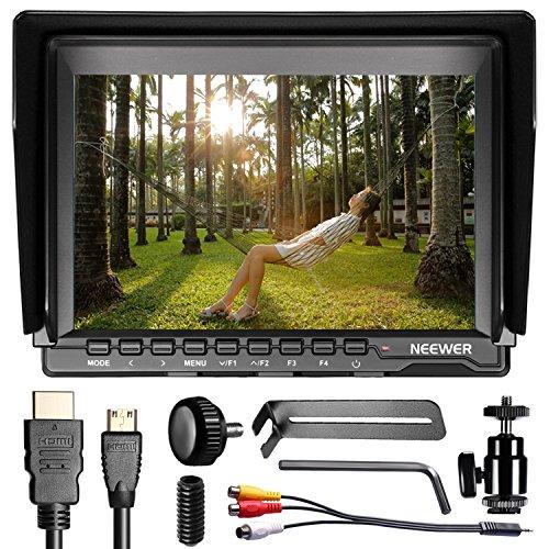Neewer nw759 7 pulgadas 1280 x 800 IPS pantalla cámara