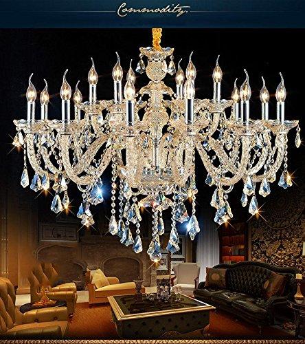 Araña de cristal europea Luz de la vela de la sala de...