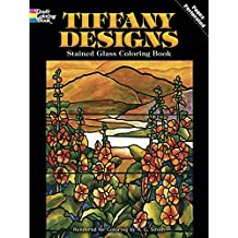 Tiffany Designs Stained Glass Coloring Book (Dover Design Stained Glass Coloring Book) by A. G. Smith (2000-01-02)