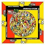 The Simpsons CC131 Springfield Citizens Jigsaw Puzzle 500 pcs