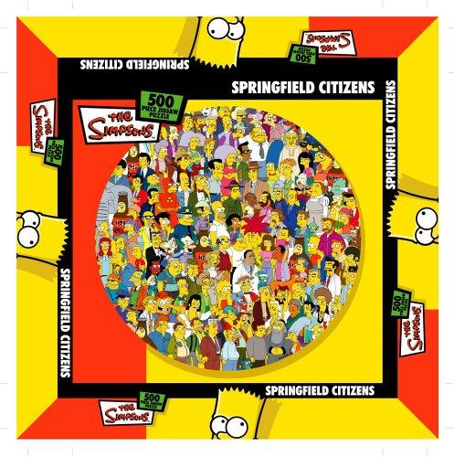 Unbekannt The Simpsons CC131Springfield Bürger Puzzle 500PCS