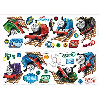 Fun4Walls CGI Thomas And Friends Stikarounds Repositionable Wall Stickers Part 72