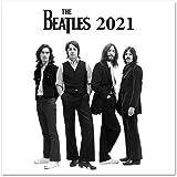 ERIK - Calendario de pared 2021 The Beatles, 30x30 cm, Producto Oficial