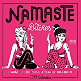 2019 Namaste Bitches Wall Calendar